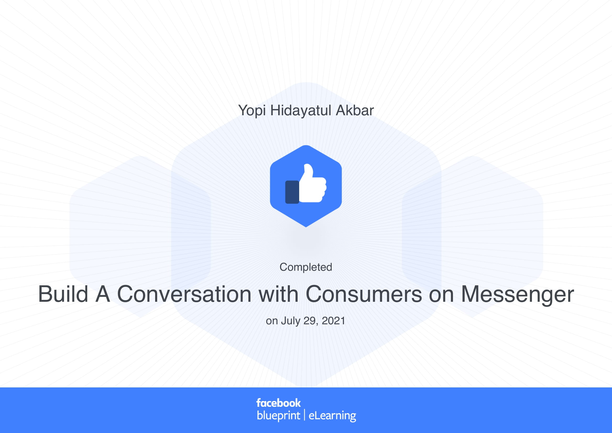 Build A Conversation with Consumers on Messenger _ Learn new skills to build your brand or business-1