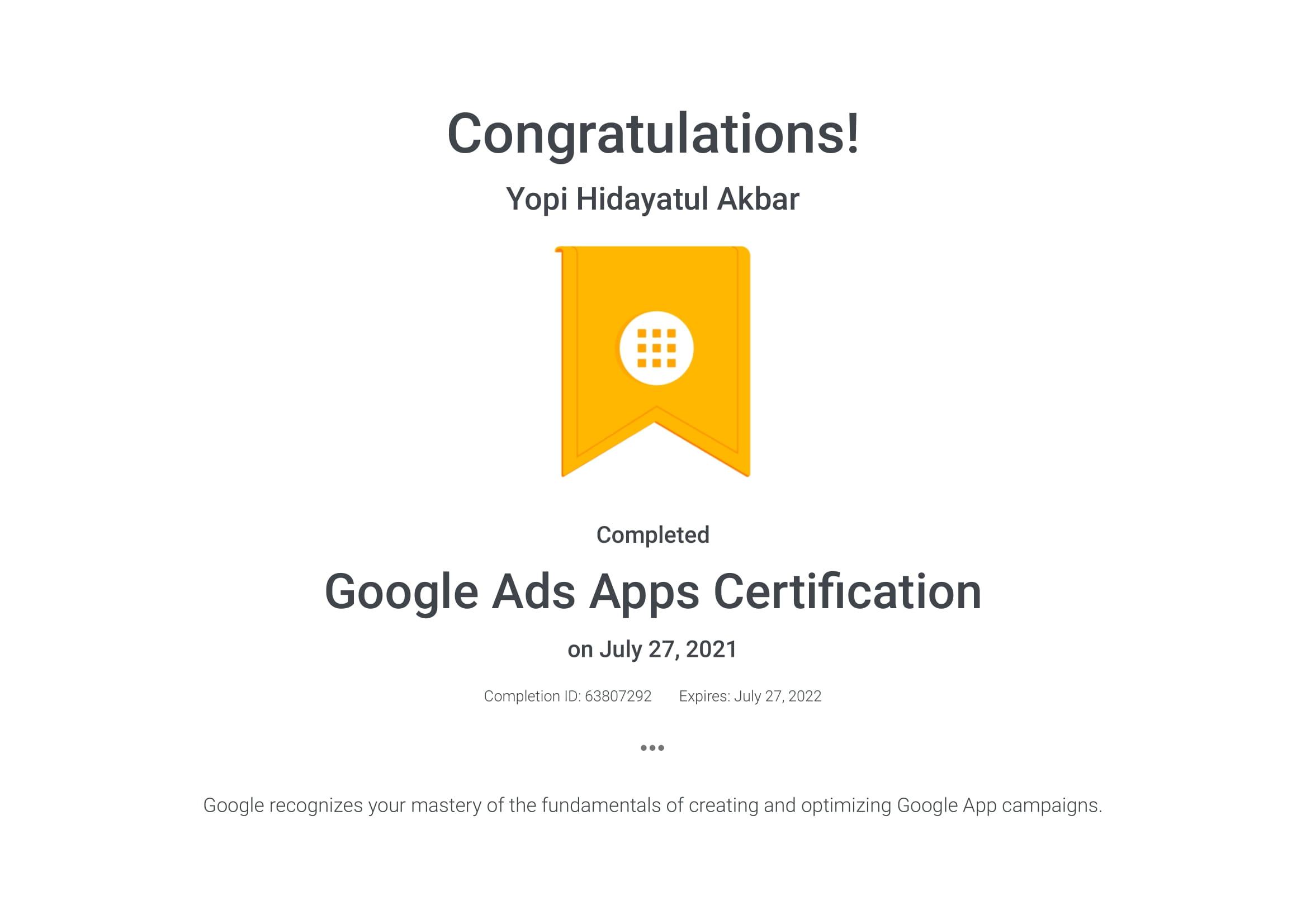 Google Ads Apps Certification _ Google-1