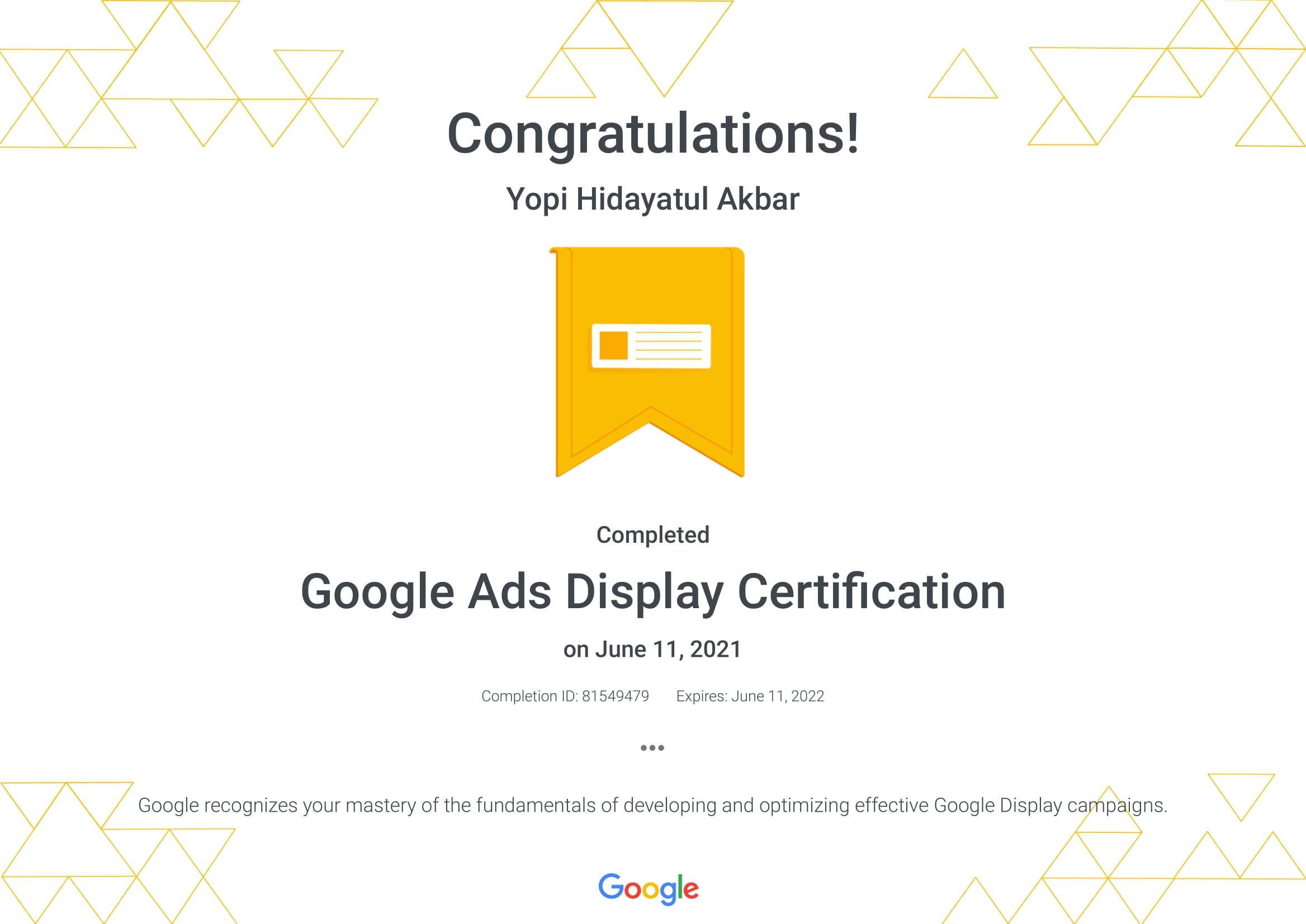 Google Ads Display Certification _ Google-1