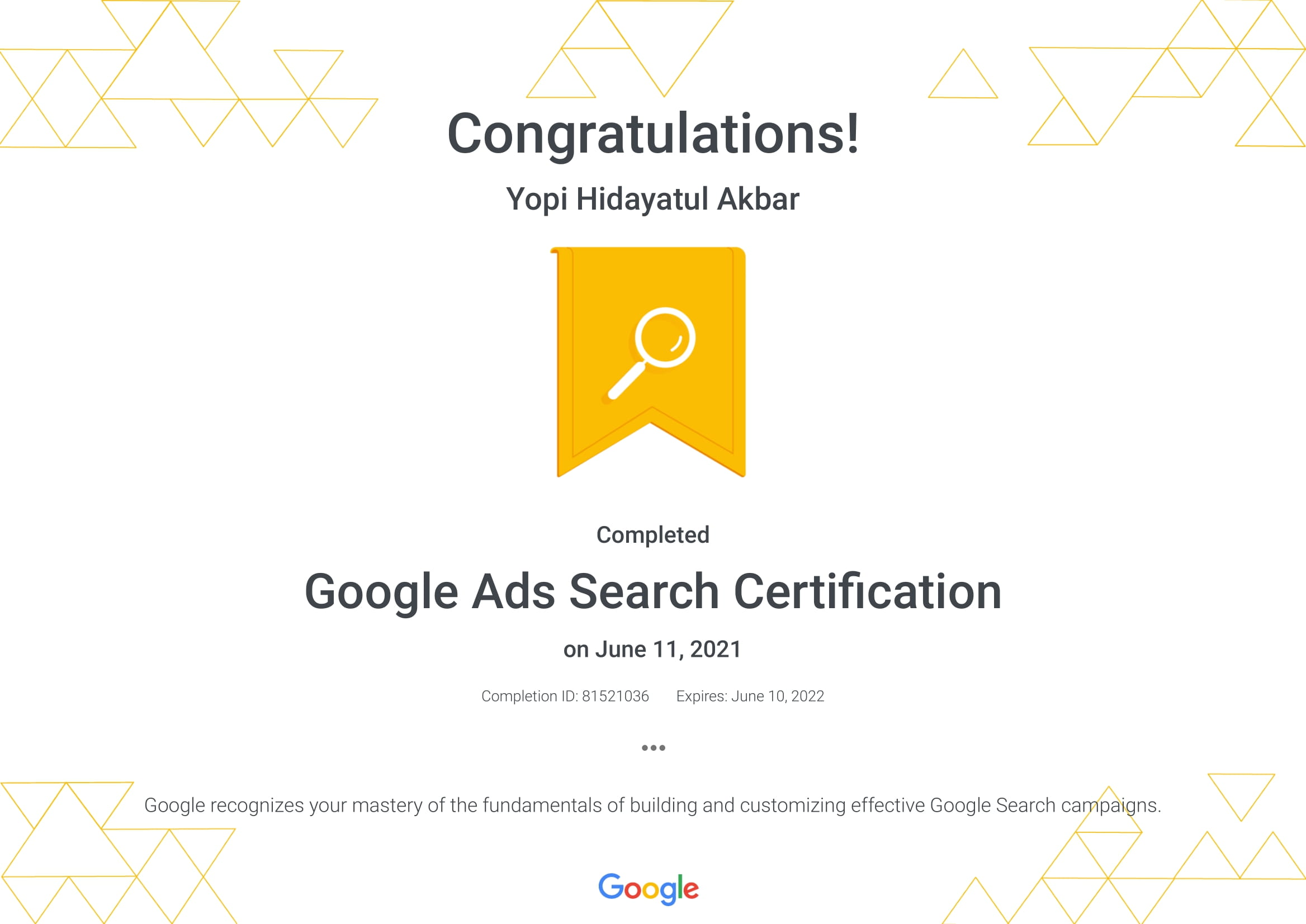 Google Ads Search Certification _ Google-1