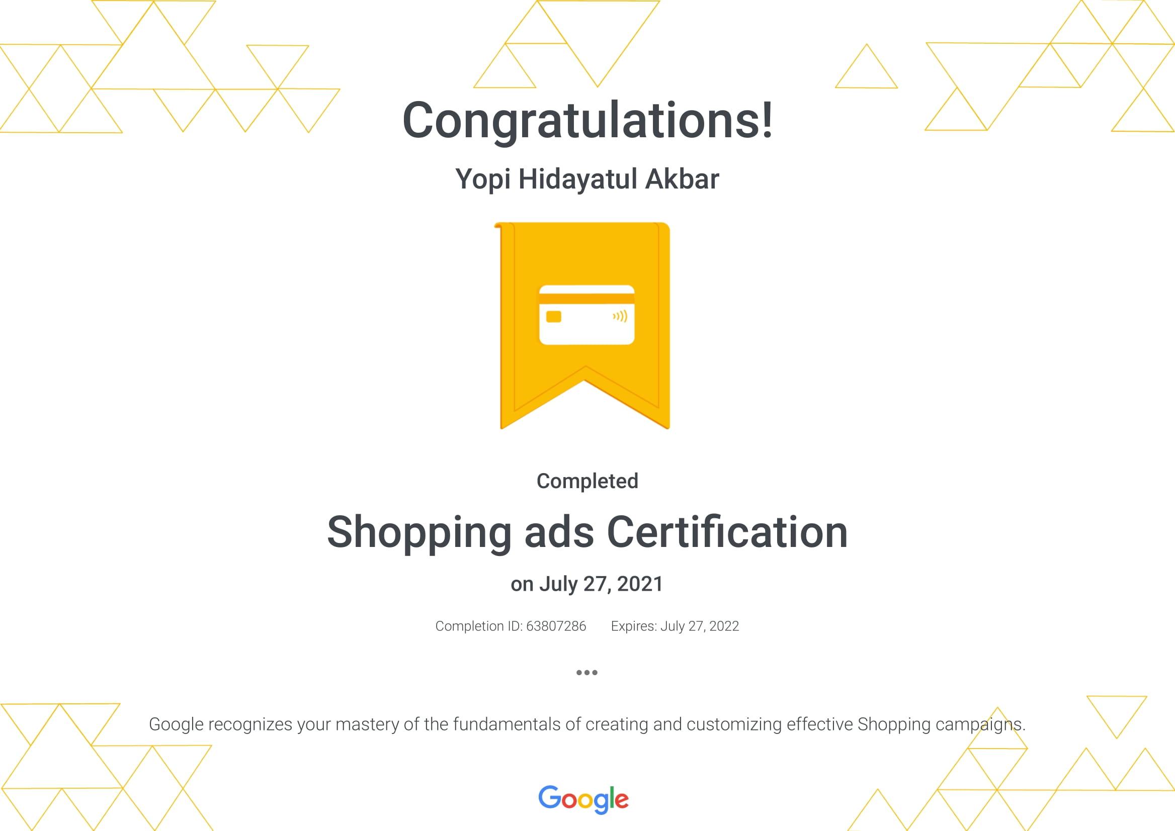 Shopping ads Certification _ Google-1